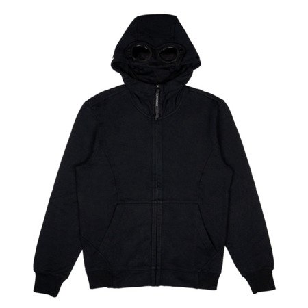 CP Company Diagonal Raised Fleece Goggle Full Zip Hoodie