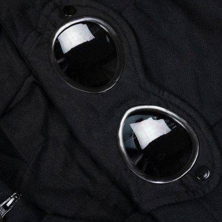 CP Company Diagonal Raised Fleece Goggle Full Zip Hoodie