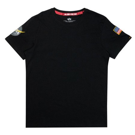 Alpha Industries NASA T Black