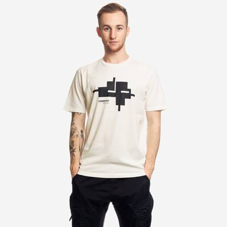 CP COMPANY SHORT SLEEVE JERSEY 24/1 OFF WHITE