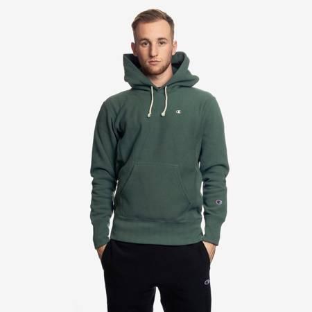 Champion Reverse Weave Hoodie Green