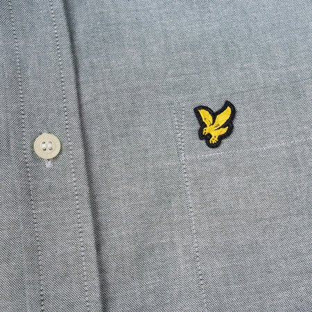 LYLE&SCOTT OXFORD SHIRT GREY