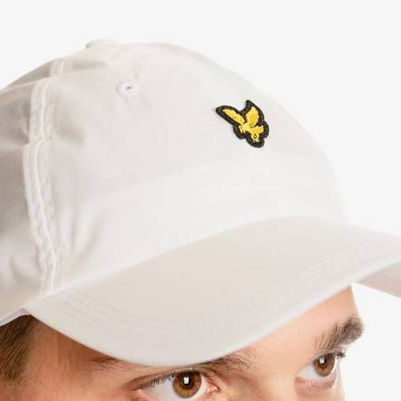 LYLE & SCOTT RIPSTOP CAP WHITE
