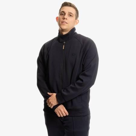 Lacoste Zippered Solid Sweatshirt