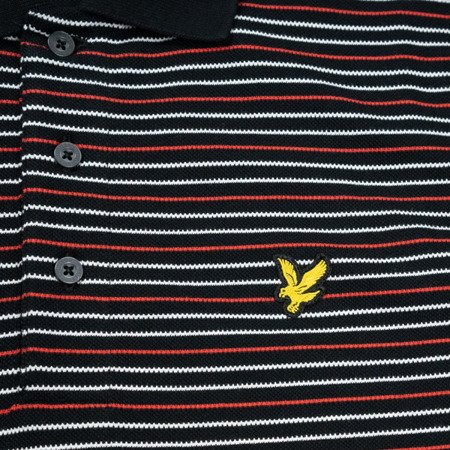 Lyle & Scott Fine Stripe Polo Shirt