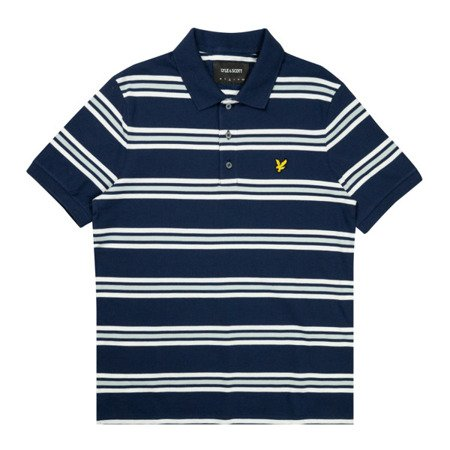 Lyle & Scott Multi Stripe Polo Shirt