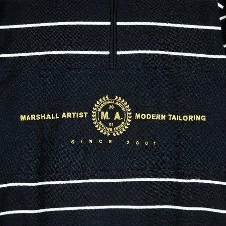 MARSHALL ARTIST MARINE STRIPE ZIP