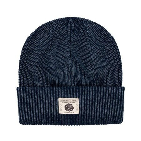 Pretty Green Mens Ribbed Beanie