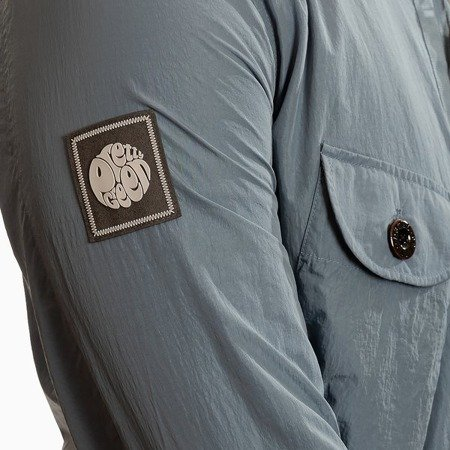 Pretty Green Mens Two Picket Zip Trough Overshirt