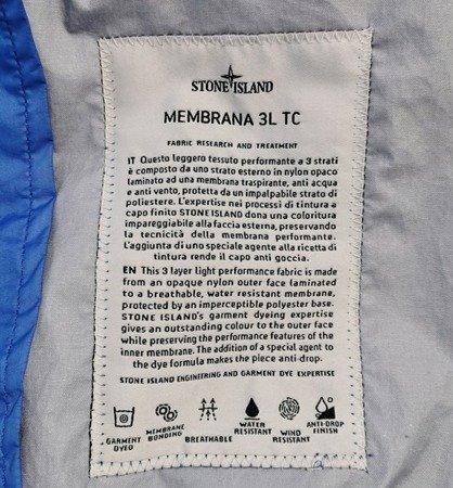 STONE ISLAND MEMBRANA 3L TC BLUE