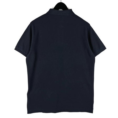 STONE ISLAND PIGMENT DYE TREATMENT POLO NAVY
